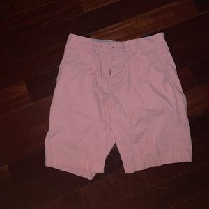 Men's Pink Tommy Hilfiger cargo shorts
